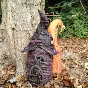Powertex fairy houses fro outside by Kore Sage
