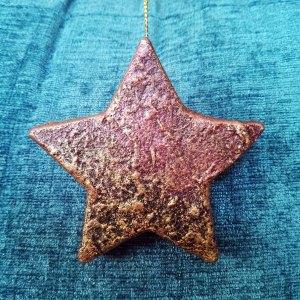 Powertex stone art star