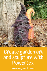 Create garden art and sculpture with Powertex