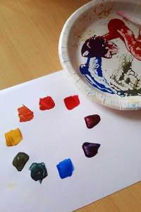 Mixing colours with Powertex Universal Medium