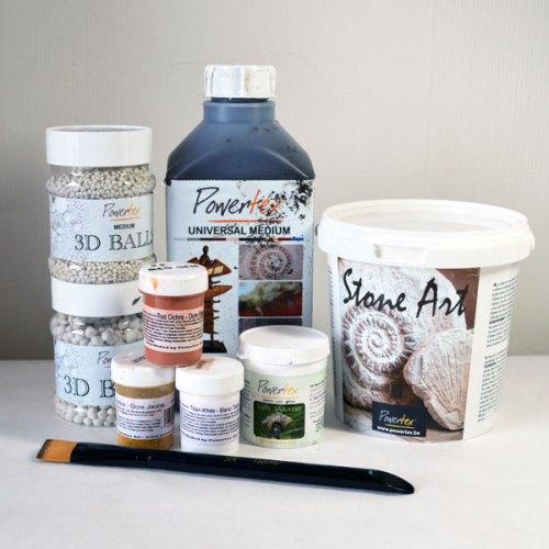 Powertex mixed media art and craft supplies
