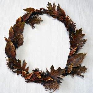 Powertex autumn wreath