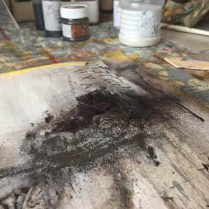 Using Powertex Rusty Powder