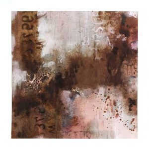 Red Bister and Rust Powertex painting