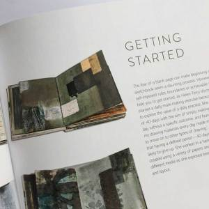 Book art Sketchbook Explorations by Shelley Rhodes