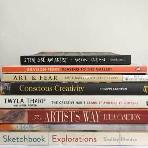 Favourite art books in October