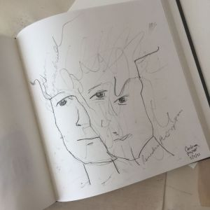 Art table sketchbook for March 2021