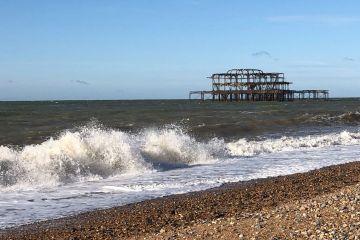 Photo of West Pier Brighton for Blogtober
