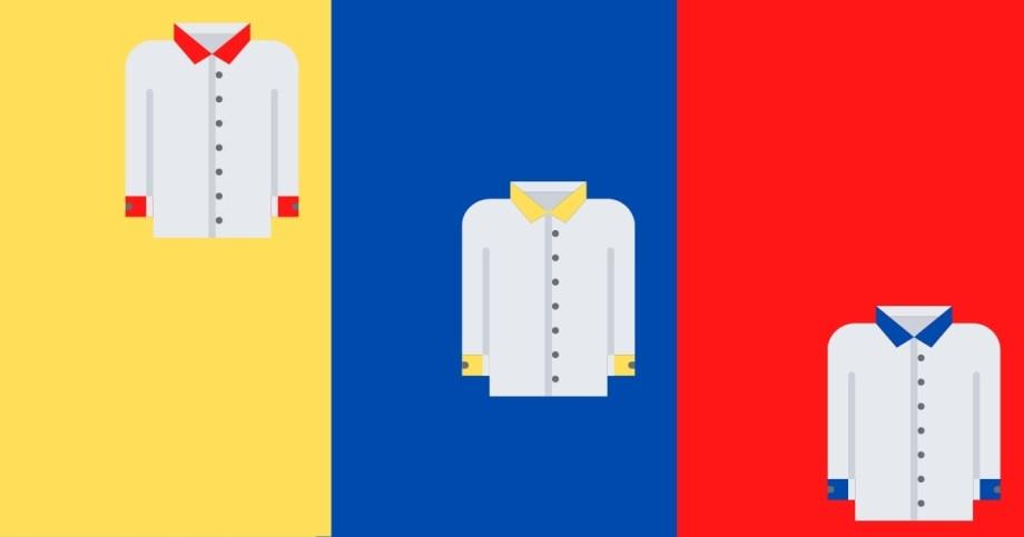 ワイシャツ 第一ボタン 苦しい
