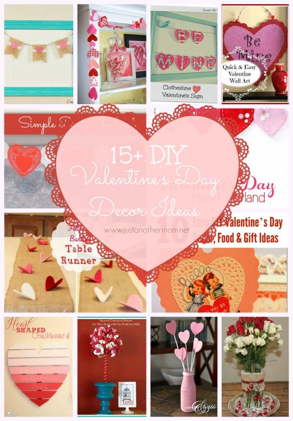 Valentines Day Wreath Felt