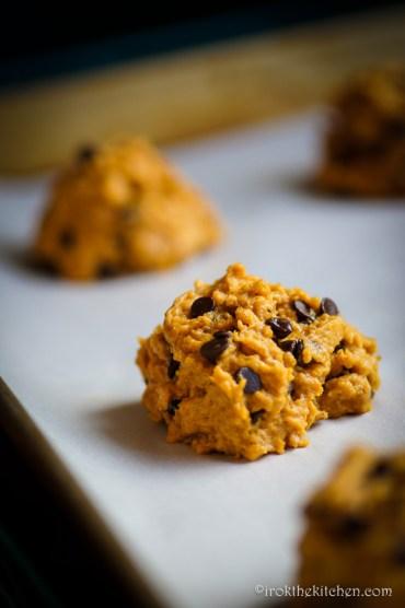 Pumpkin Chocolate Chip Cookies-6