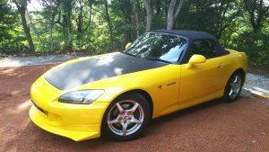 スポーツカーレンタカーオープン記念です。ホンダS2000、3時間4000円、6時間7000円、9時間9000円にて