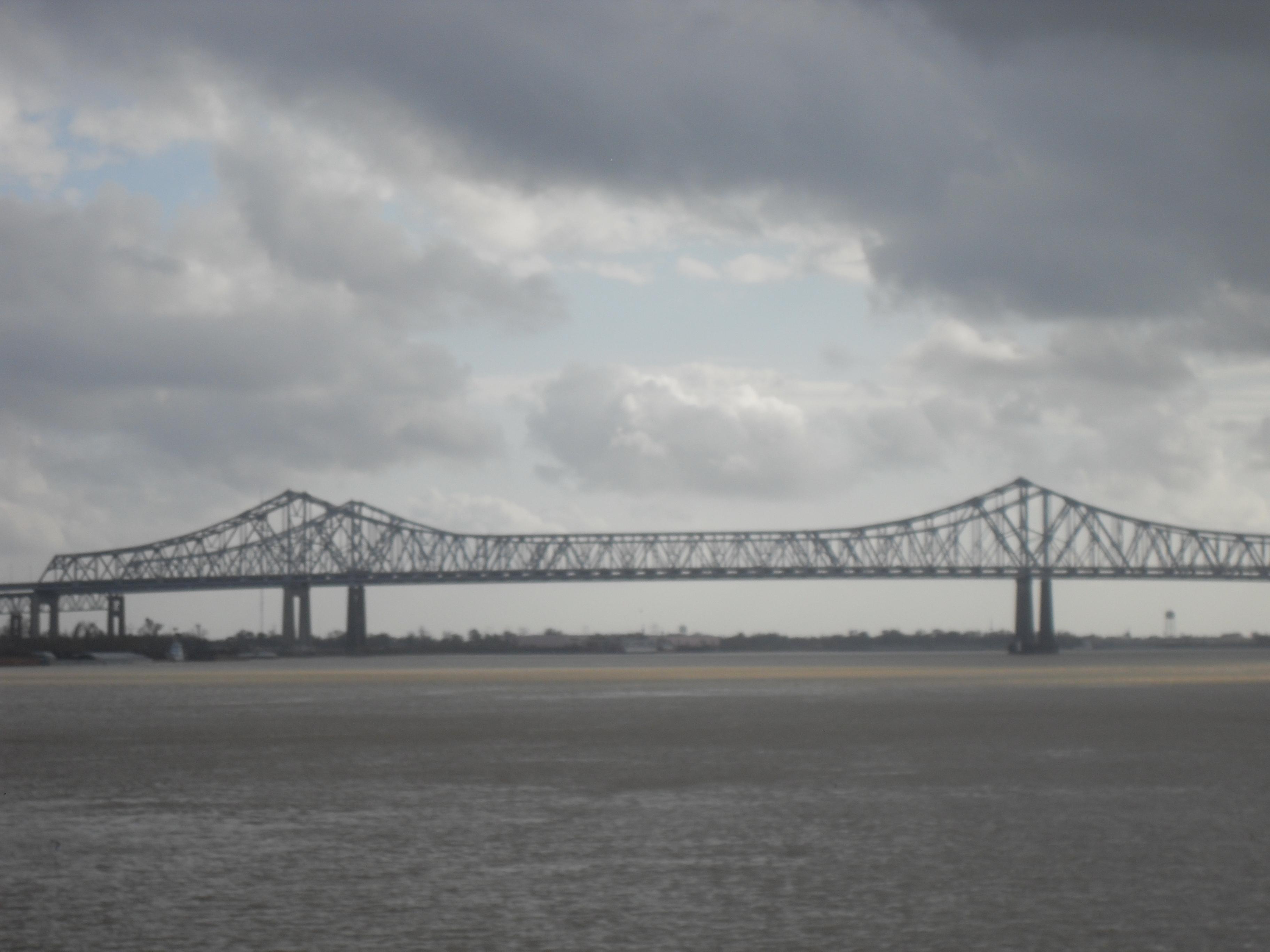 A bridge over the Mississipi
