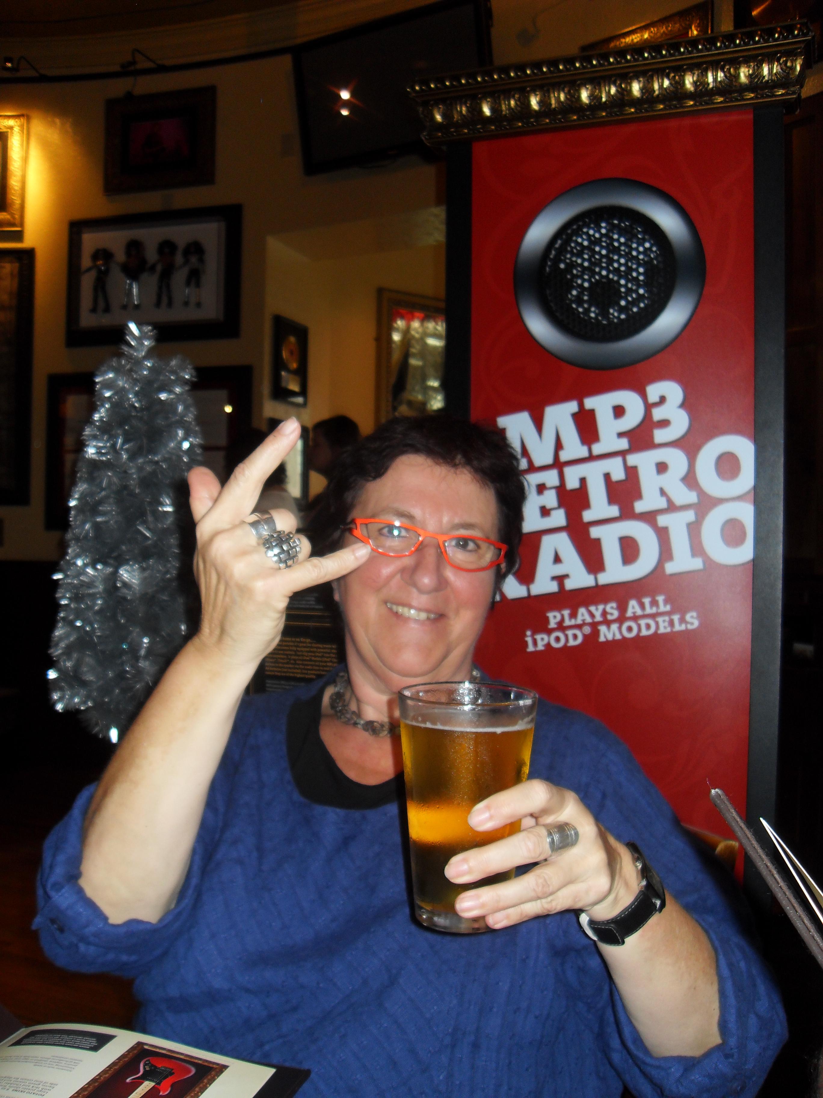 Hard Rock Café New Orleans...Rock 'n roll!!!