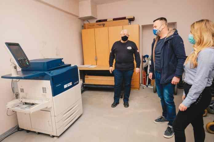 Mozzart donirao mašinu štampariji distrofičara iz Doboja