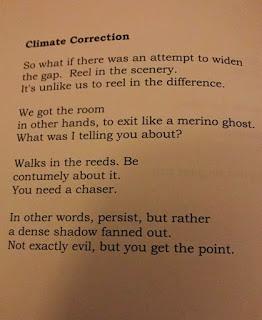 John Ashbery's last poem, handwritten at his home in Hudson, August 25, 2017