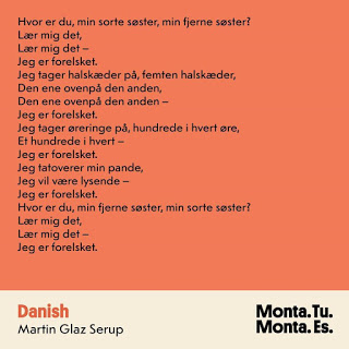 Lettiske Monta Kroma på dansk: Jeg er forelsket!
