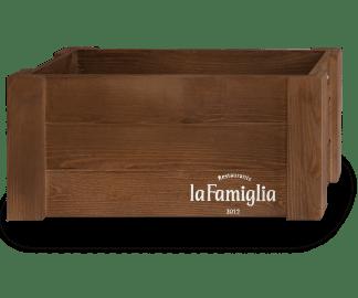 Ящик деревянный брендированный