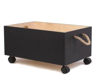 Ящик с графитным покрытием