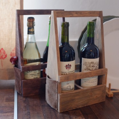 Gift wine box Kampen tobacco