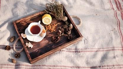 Wooden tray Marken