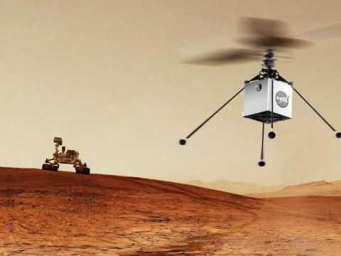 Вертолёты на Марсе.