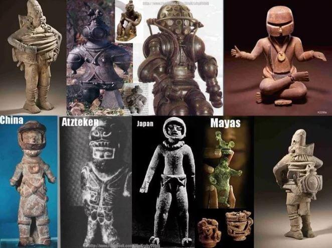 Астронавты древности.
