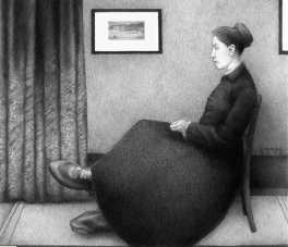Фанни Миллс — красивая девушка с большими ногами