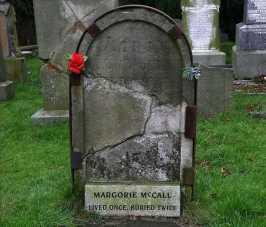Маргори Макколл — Жила Однажды, Похоронена Дважды