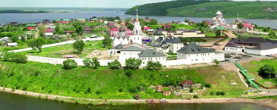 В 1551–1552 годах град Свияжск помог войскам Ивана Грозного взять Казань.