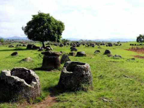 Равнина каменных кувшинов.