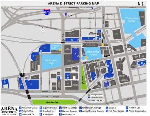 Arena District Parking