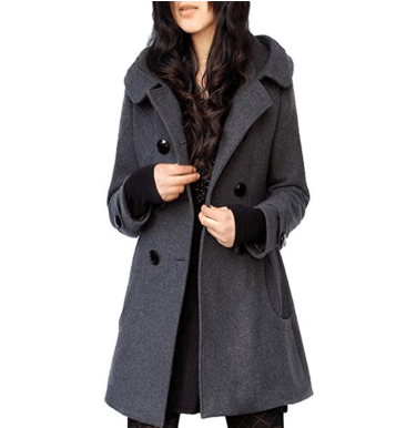 Screenshot_2019-11-20 Amazon com Tanming Women's Winter Double Breasted Wool Blend Long Pea Coat with Hood Clothing
