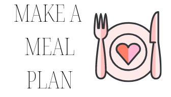 50 ideas for self improvement! Idea for self improvement: make a meal plan