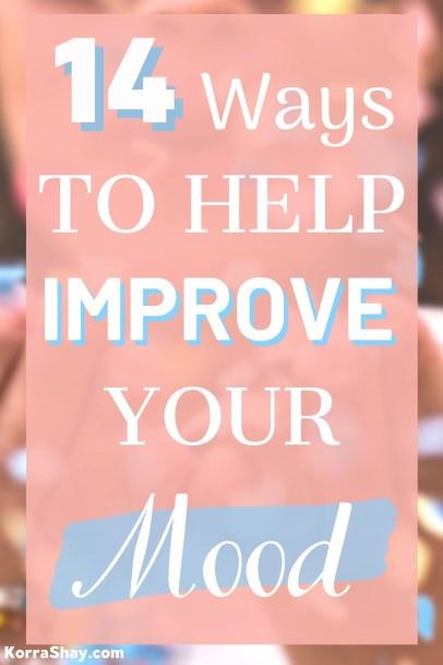 14 ways to help improve your mood