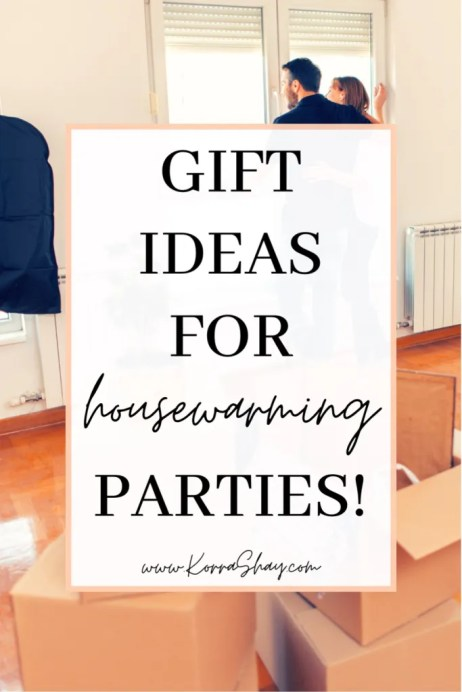 gift ideas for housewarming parties!