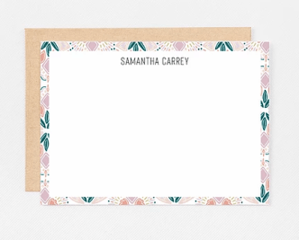 Gift for organized people: personalized stationery