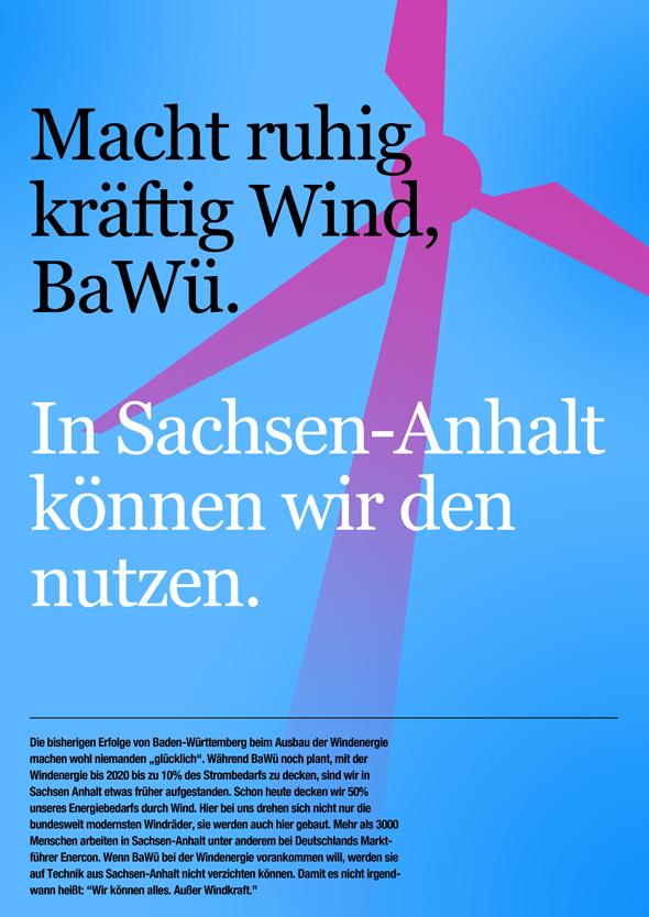 Baden-Württemberg vs. Sachsen-Anhalt: Wir können alles. Außer Windkraft.