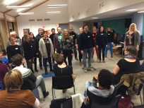 Workshop med BertaSofie konsertdesign