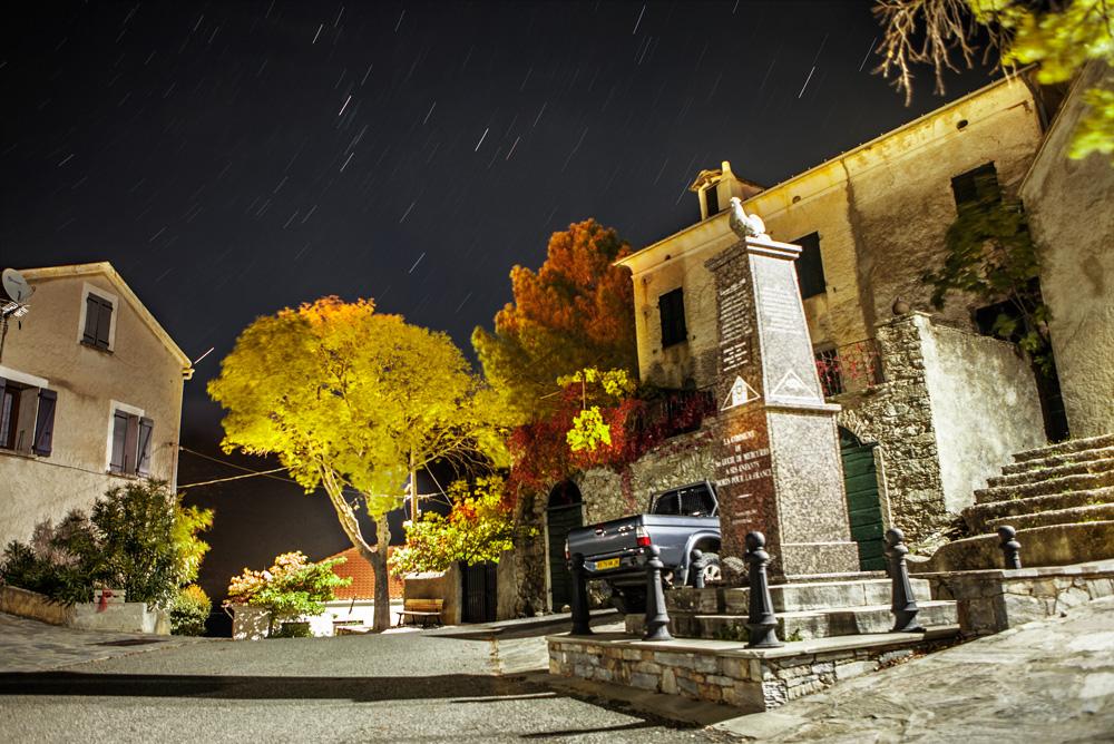 Das Bergdorf Santa-Lucia-di-Mercurio