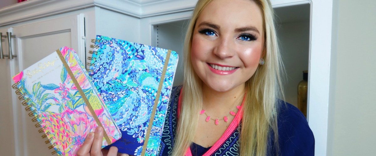 Lilly Pulitzer Agenda GIVEAWAY!!!