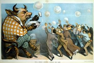 J.P. Morgan as Bubble-Blowing Bull