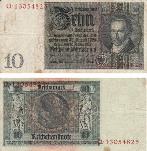 submerging currency 1929 Reichsmark