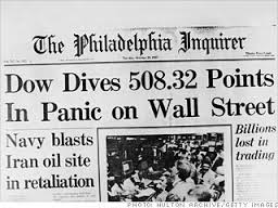 Black Monday October 19, 1987