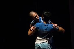 Dancers Simon Harrison and Radhanath Thialon