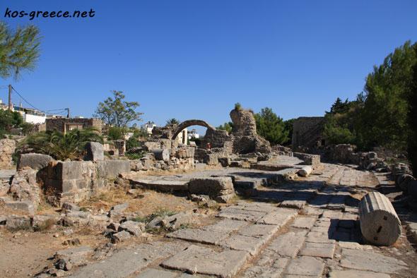 Ancient Hellenistic Gymnasium photo