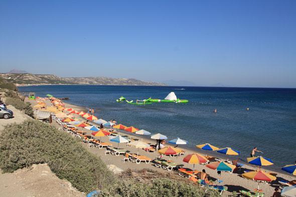 Beaches on Kos Island pic