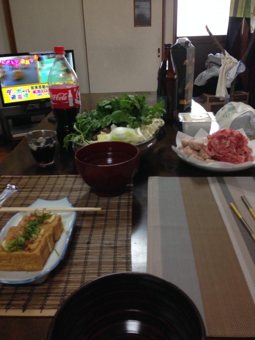 福岡のお友達と鍋やるでー!