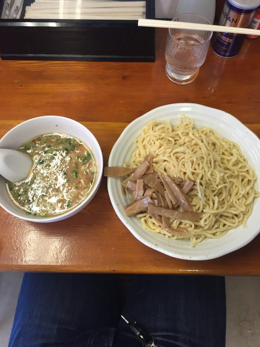 麺食堂 一真亭 - つけめん+メンマ