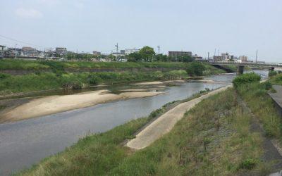 2017年GW福岡帰省4日目:御笠川
